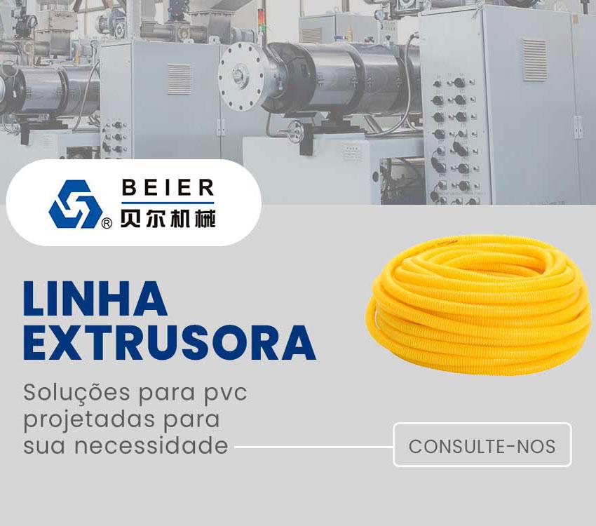 Linha Extrusora Soluções para PVC