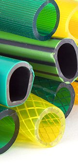 Mangueiras de PVC e plástico